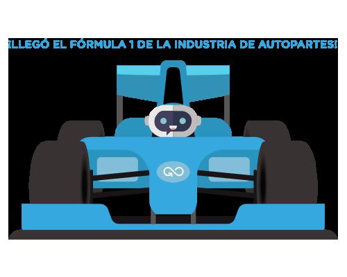Llegó el Fórmula 1 de la industria de autopartes